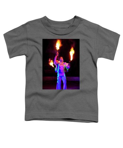Fire Juggler Toddler T-Shirt