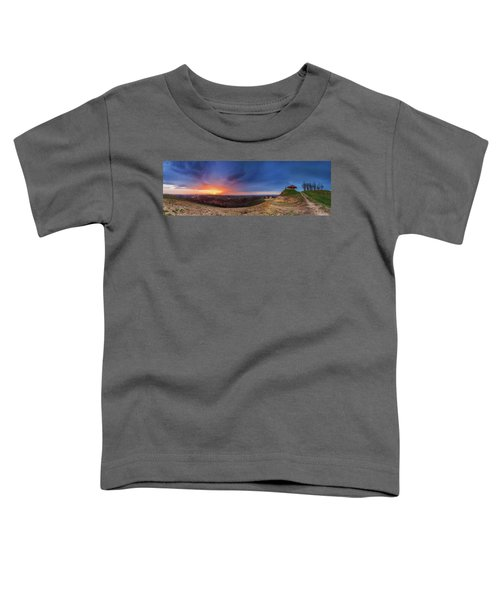 Fire On The West Side Toddler T-Shirt
