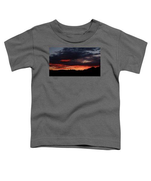 Fire Sky Toddler T-Shirt