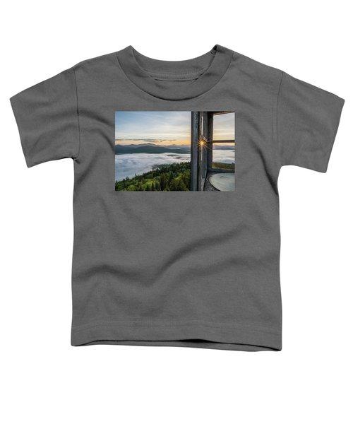 Fire Tower Sunburst Toddler T-Shirt