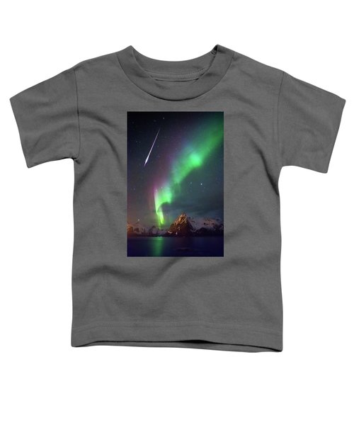 Fireball In The Aurora Toddler T-Shirt