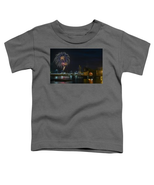 Fireworks And 17th Street Docks Toddler T-Shirt