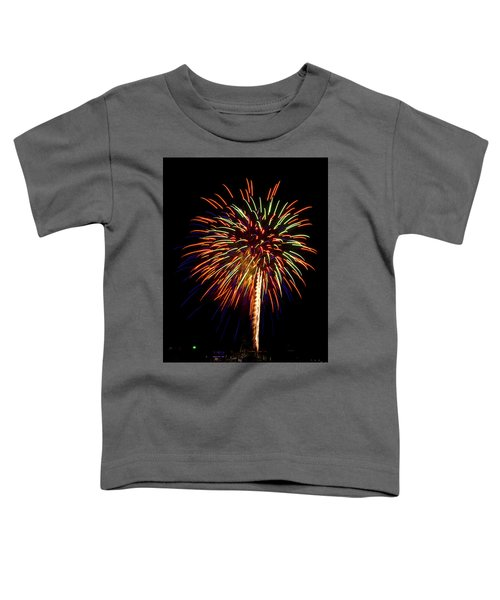 Toddler T-Shirt featuring the photograph Fireworks by Bill Barber