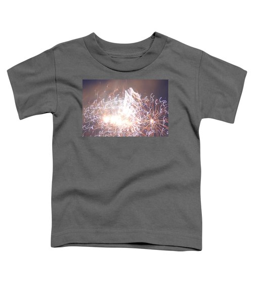 Fireworks In The Park 6 Toddler T-Shirt