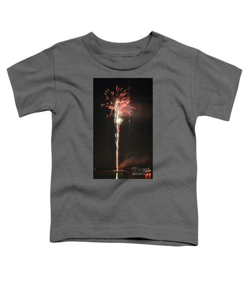 Fireworks On The Lake Toddler T-Shirt