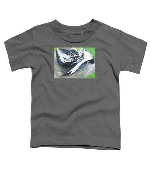 Fish On A Table Toddler T-Shirt