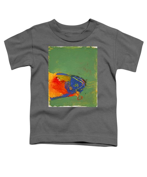 Fish Pondering The Anomaly Of Mans Anamnesis Toddler T-Shirt