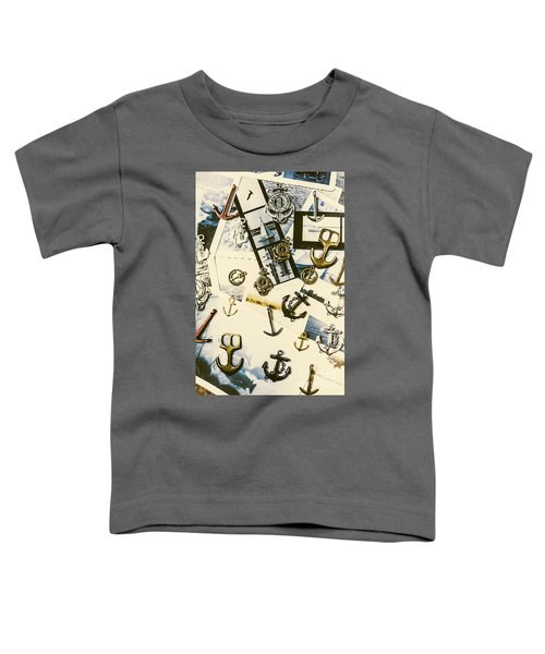 Fishermans Iconography  Toddler T-Shirt