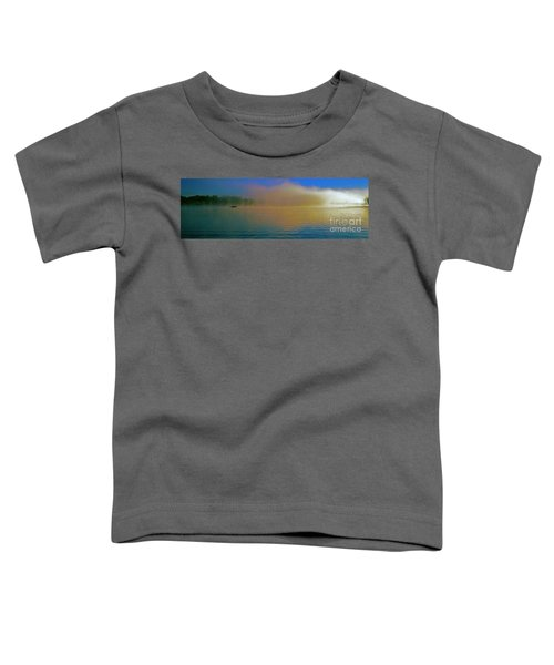 Fishing Boat Day Break  Toddler T-Shirt