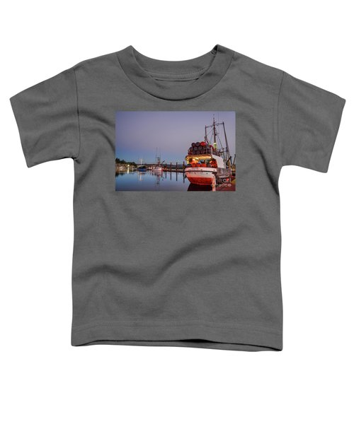 Fishing Boats Waking Up For The Day Toddler T-Shirt