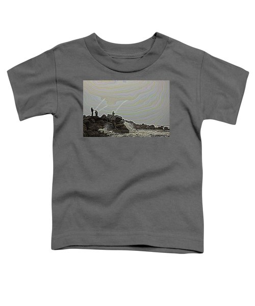 Fishing In The Twilight Zone Toddler T-Shirt