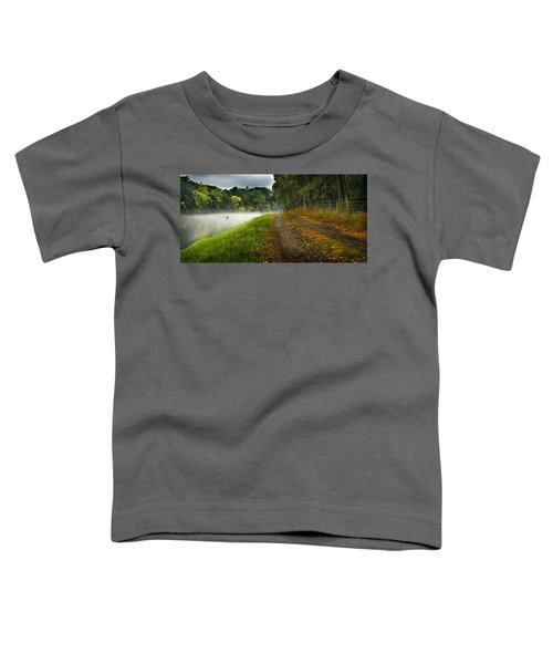 Fishing The River Beauly Toddler T-Shirt