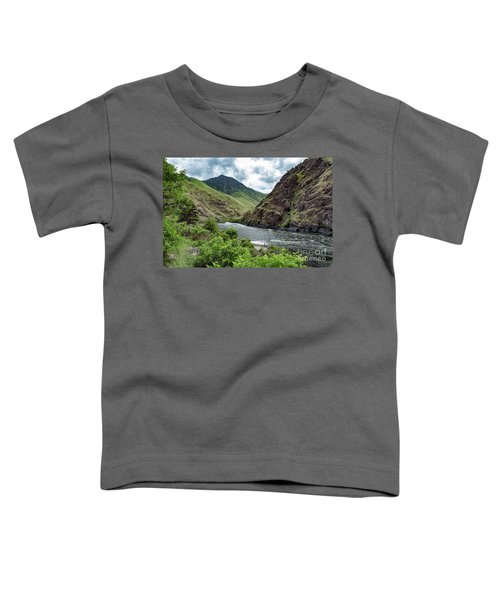 Fishing The Snake Waterscape Art By Kaylyn Franks Toddler T-Shirt