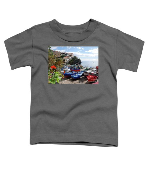 Fishing Village On The Island Of Madeira Toddler T-Shirt