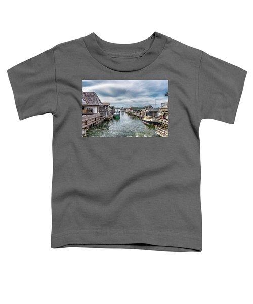 Fishtown Michigan In Leland Toddler T-Shirt