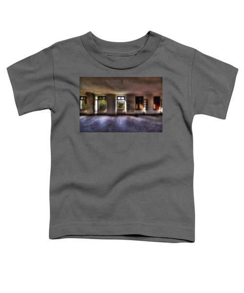 Five Windows On The Wood - Cinque Finestre Sul Bosco Toddler T-Shirt