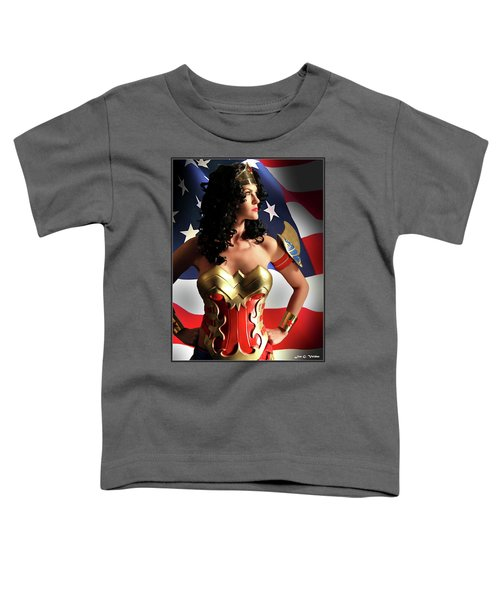 Flag And Fury Toddler T-Shirt