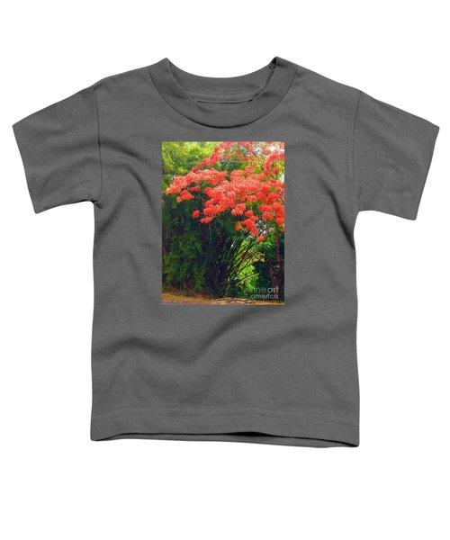Flamboyant With Bamboo Toddler T-Shirt