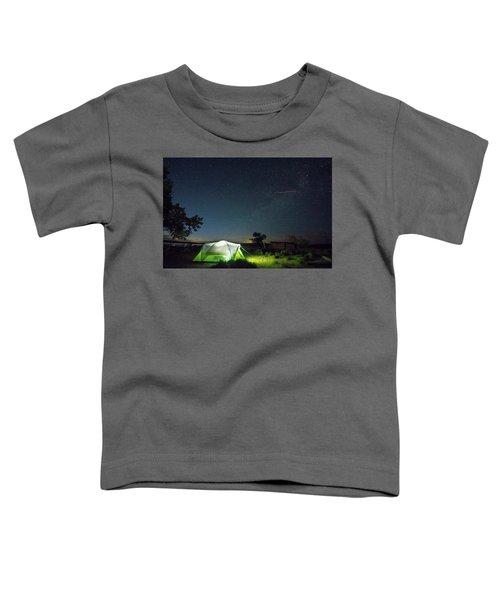 Flaming Sky Toddler T-Shirt