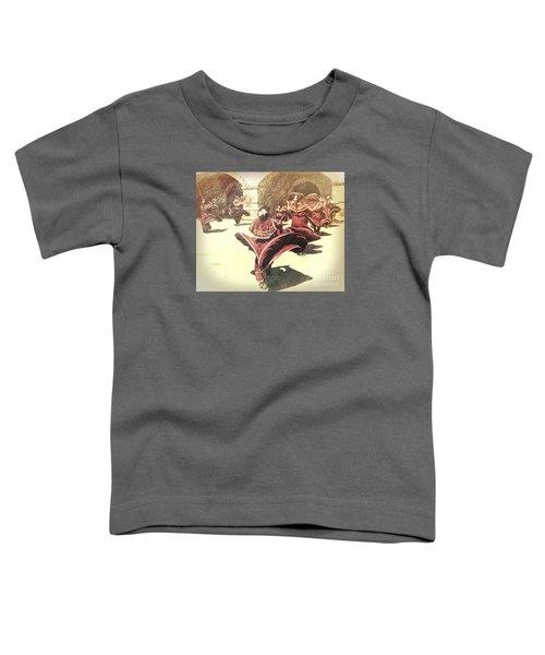 Flaring Skirts Toddler T-Shirt