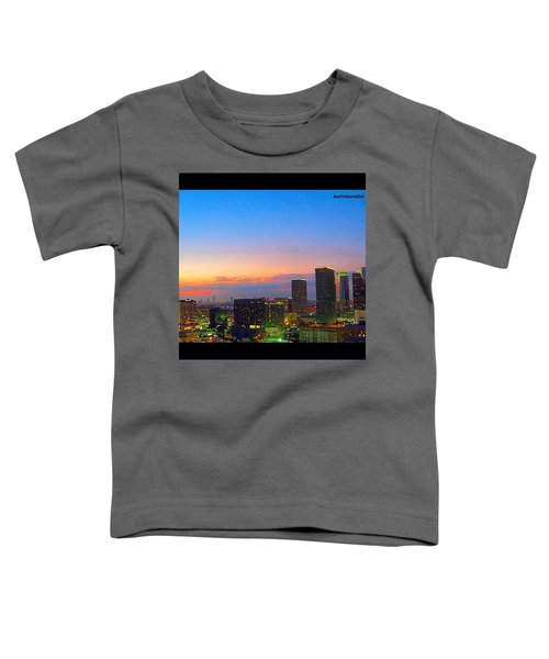 #flashbackfriday - The #sunset Over Toddler T-Shirt