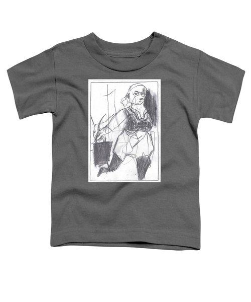 Fleeing Writer Toddler T-Shirt