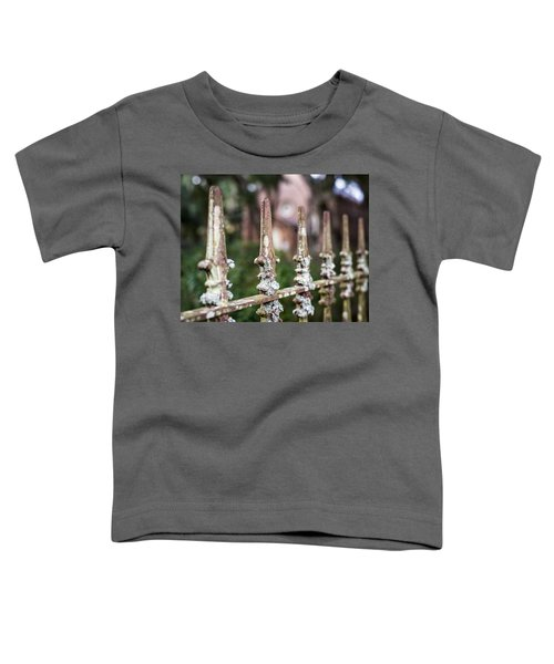 Fleur De Lis Finial Toddler T-Shirt