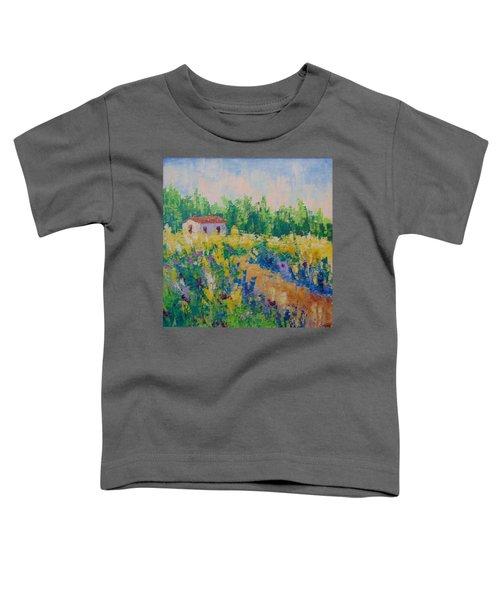 Fleurs Sauvage De Provence Toddler T-Shirt