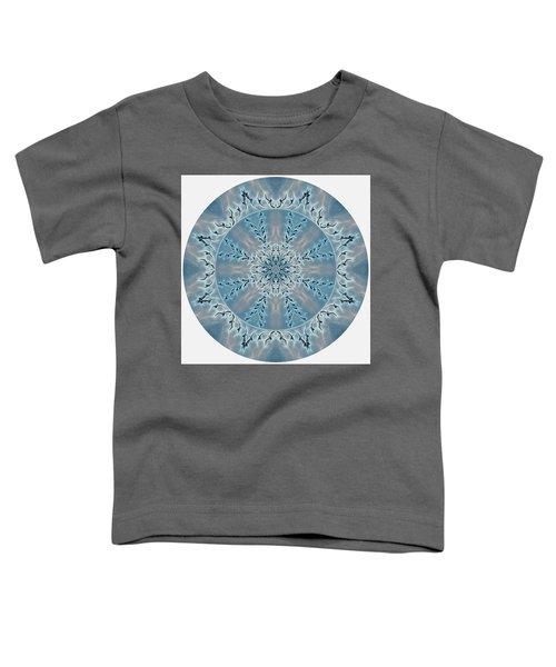 Flight Of The Tundra Swan Mandala Toddler T-Shirt