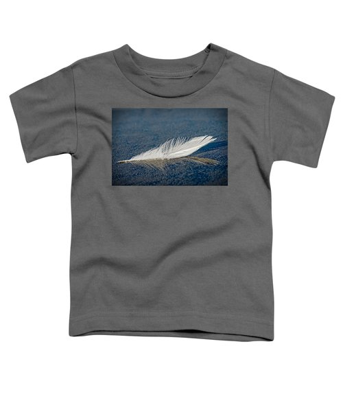 Floating Feather Reflection Toddler T-Shirt