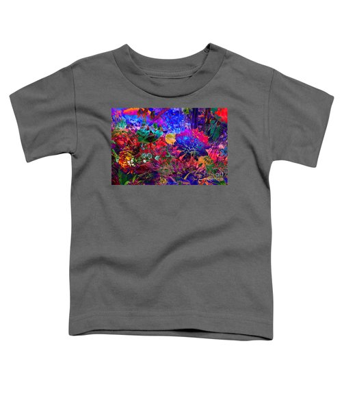 Floral Dream Of Summer Toddler T-Shirt