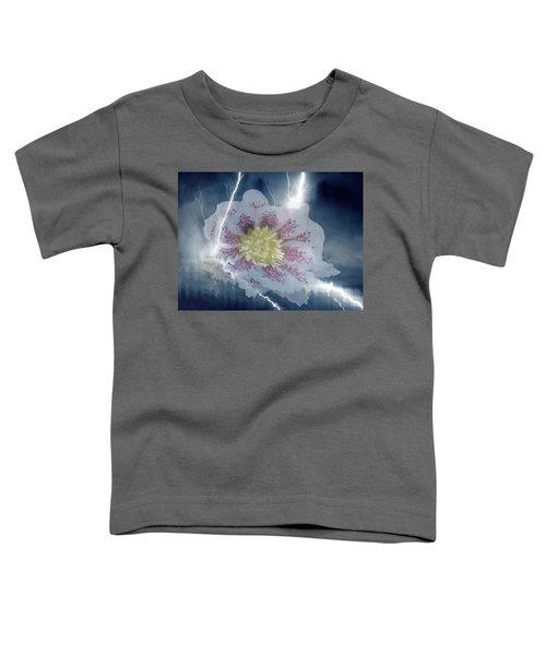 Floral Lightning Reflections Toddler T-Shirt