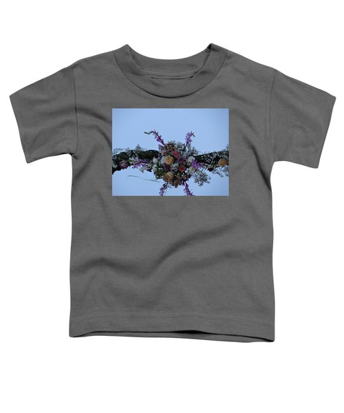 floral love in the Kenyan sky Toddler T-Shirt