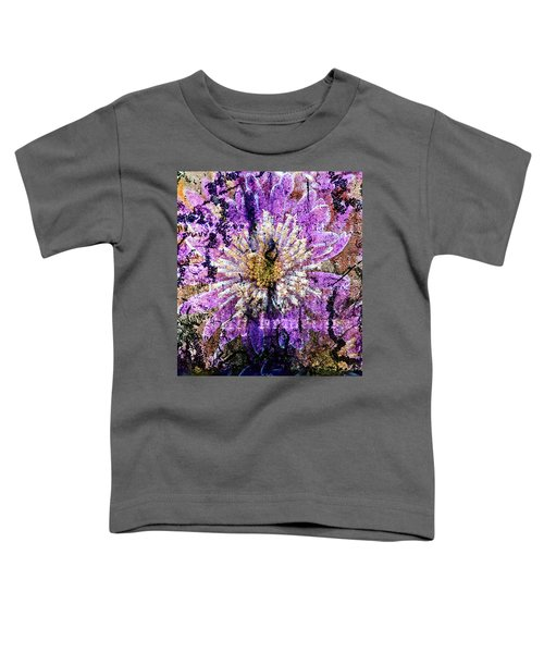 Floral Poetry Of Time Toddler T-Shirt