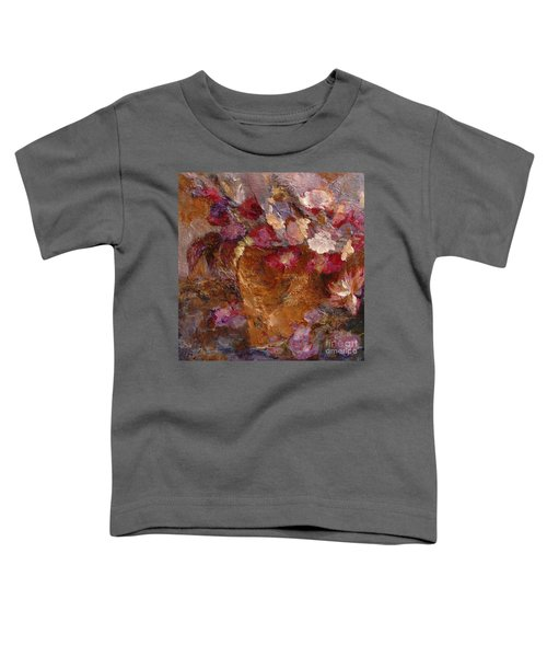 Floral Still Life Pinks Toddler T-Shirt