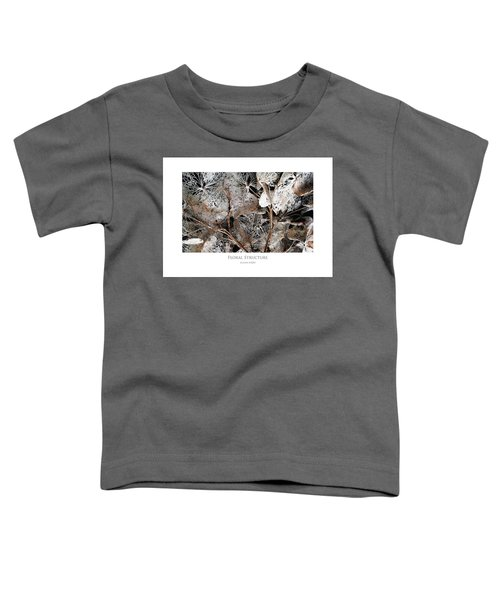 Floral Structure Toddler T-Shirt