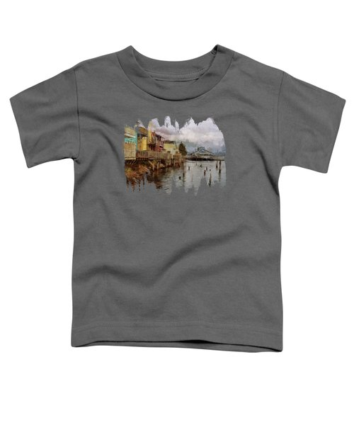 Scene On The Siuslaw  Toddler T-Shirt