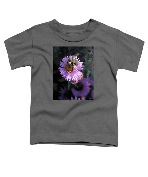 Flower And Bee Toddler T-Shirt