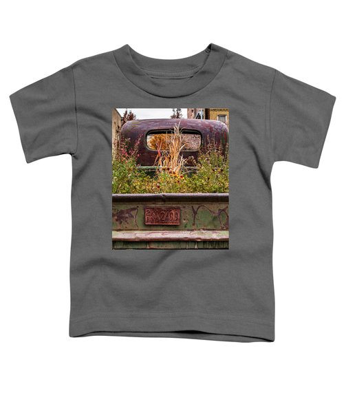 Flower Bed - Nature And Machine Toddler T-Shirt