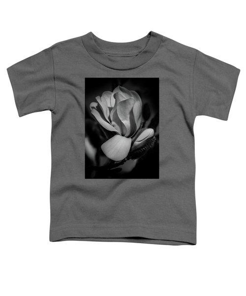 Flower Noir Toddler T-Shirt