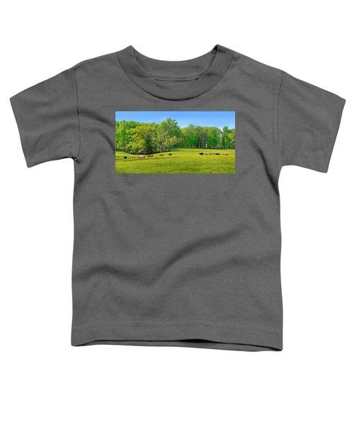 Flowering Cow Pasture Toddler T-Shirt
