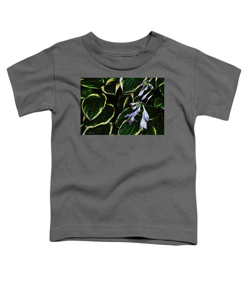 Flowering Hosta Toddler T-Shirt