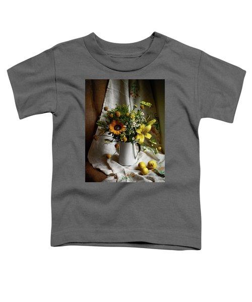 Flowers And Lemons Toddler T-Shirt