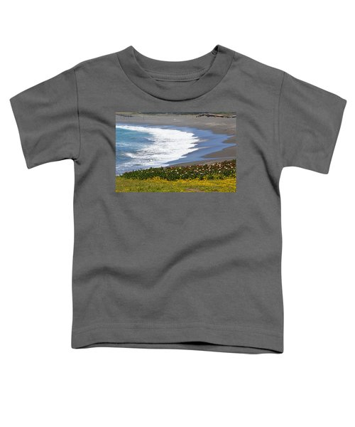 Flowers By The Sea Toddler T-Shirt