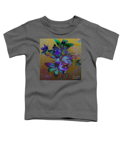 Flowers For The Heart Toddler T-Shirt