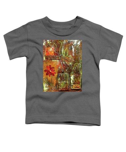 Flowers Grow Anywhere Toddler T-Shirt