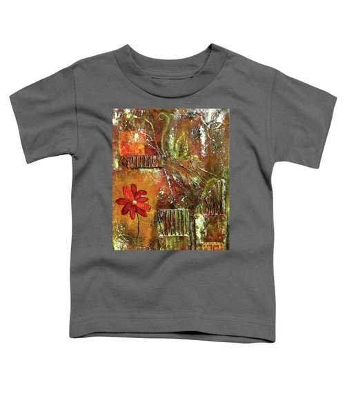 Flowers Grow Anywhere Toddler T-Shirt
