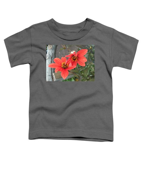 Flowers In Love Toddler T-Shirt