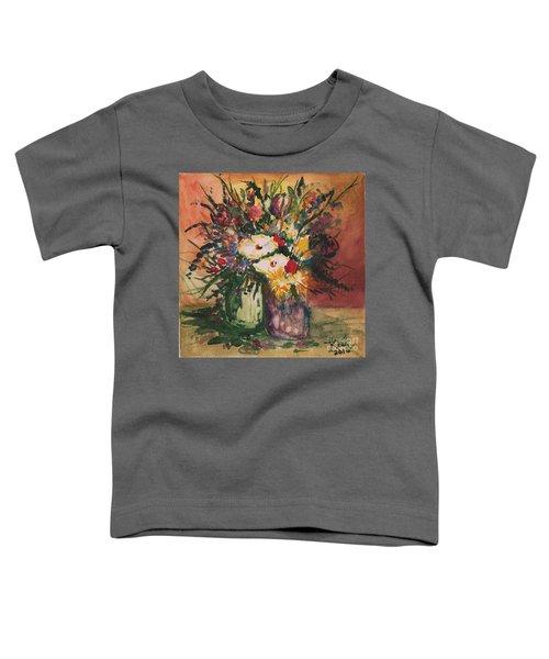 Flowers In Vases Toddler T-Shirt