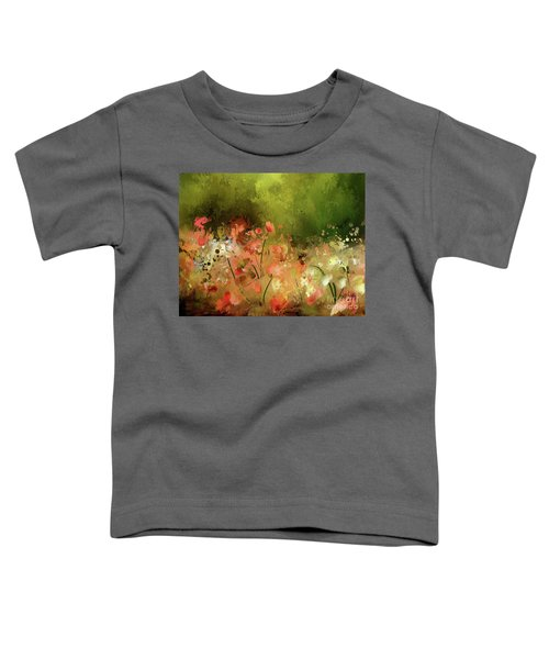 Flowers Of Corfu Toddler T-Shirt